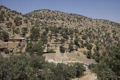 Templo de Yezidi em Lalish Imagens de Stock