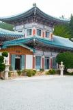 Templo de Youngang - Corea Foto de archivo