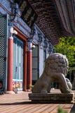 Templo de Youngang - Corea Fotos de archivo