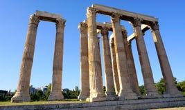 Templo de Zeus Fotos de archivo libres de regalías