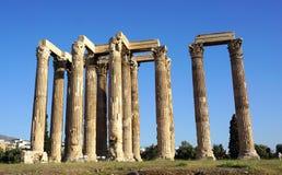Templo de Zeus Fotografía de archivo