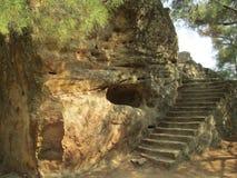 Templo de Zeus Foto de archivo libre de regalías