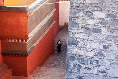 Templo de Zhashilunbu, Tíbet, China imagen de archivo libre de regalías