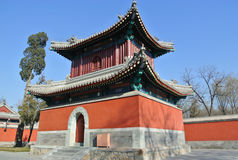 Templo de Zhengjue no parque de Yuanmingyuan Foto de Stock Royalty Free