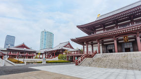 Templo de Zojoji no Tóquio Fotografia de Stock Royalty Free