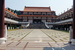 Templo de Zulai Budhist Imagens de Stock Royalty Free