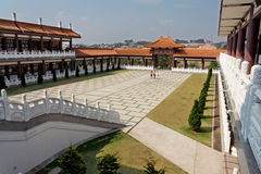 Templo de Zulai Budhist Foto de archivo