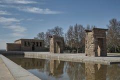 Templo Debod Madrid Fotografía de archivo libre de regalías