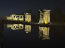 Templo debod Stock Photo