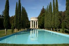 Templo del agua de Pulgas fotos de archivo libres de regalías
