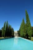 Templo del agua de Pulgas, California Imágenes de archivo libres de regalías