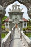 Templo del agua en Bali Fotografía de archivo