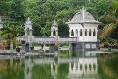 Templo del agua en Bali Fotografía de archivo libre de regalías