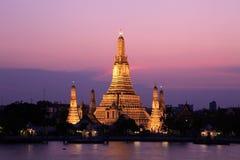 Templo del amanecer Foto de archivo libre de regalías