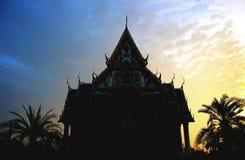 Templo del amanecer Fotografía de archivo libre de regalías