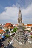 Templo del amanecer en Bangkok Imágenes de archivo libres de regalías