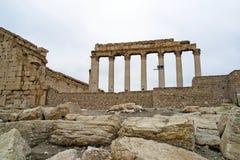 Templo del belio en el Palmyra, Siria Foto de archivo