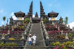 Templo del besakih de Pura Foto de archivo