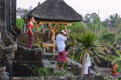 Templo del besakih de Pura fotos de archivo libres de regalías