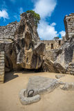 Templo del cóndor, Machu Picchu, Perú Foto de archivo