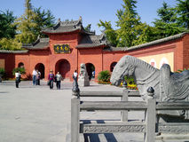 Templo del caballo blanco Imagen de archivo