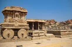 Templo del carro y de Vittala en Hampi, la India fotos de archivo libres de regalías