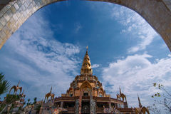 Templo del centro Imagen de archivo libre de regalías