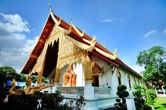 Templo del chiangmai Fotografía de archivo