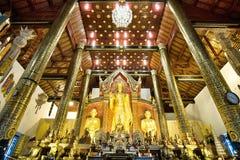 Templo del chiangmai Imagen de archivo