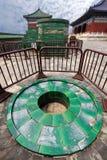Templo del cielo, hornillas de cobre Fotos de archivo