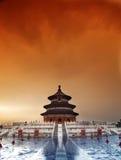 Templo del cielo, Pekín, China Imágenes de archivo libres de regalías