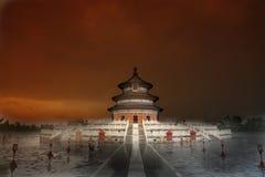 Templo del cielo, Pekín, China Imagen de archivo
