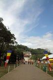 Templo del diente en Kandy fotografía de archivo libre de regalías