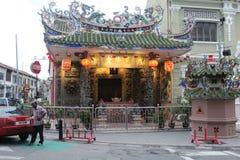 Templo del dragón Imagen de archivo libre de regalías