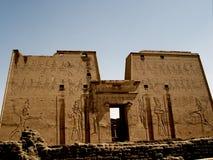 Templo del edfu foto de archivo libre de regalías