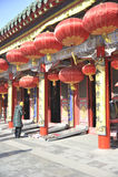 Templo del emperador de Shenyang imágenes de archivo libres de regalías