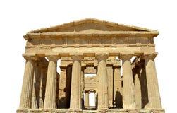Templo del griego clásico Fotos de archivo libres de regalías