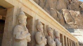 Templo del hatschepsut Foto de archivo libre de regalías