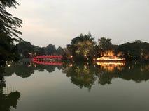 Templo del hijo de Ngoc Fotografía de archivo
