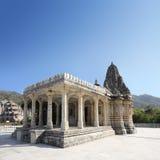 Templo del hinduism de Ranakpur en la India Fotos de archivo libres de regalías