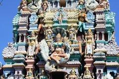 Templo del Hinduism en Penang imagen de archivo libre de regalías