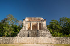 Templo del Hombre Barbado, Temple of the bearded man, Chichen Itza, Mexico. Templo del Hombre Barbado, Temple of the bearded man, Chichen Itza, Yucatan, Mexico Stock Images