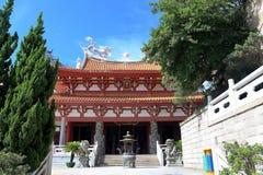 Templo del hou de Thean, templo del mazu en meizhou Imágenes de archivo libres de regalías