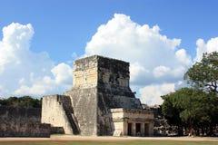 Templo del jaguar Foto de archivo libre de regalías