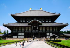 Templo del ji de Todai en Japón Imágenes de archivo libres de regalías