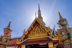 Templo del kaew de Phra Fotografía de archivo