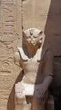 Templo del karnak Fotografía de archivo libre de regalías