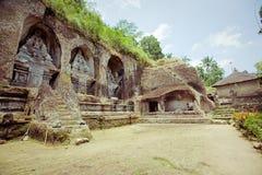 Templo del kawi de Gunung en Bali Imágenes de archivo libres de regalías