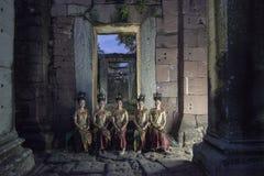 TEMPLO DEL KHMER DE TAILANDIA ISAN PHIMAI Imágenes de archivo libres de regalías