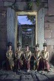 TEMPLO DEL KHMER DE TAILANDIA ISAN PHIMAI Imagen de archivo libre de regalías